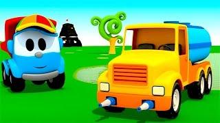 Pequeño Leo - El Camión Cisterna - Coches infantiles - Carritos para niños - Camiones infantiles