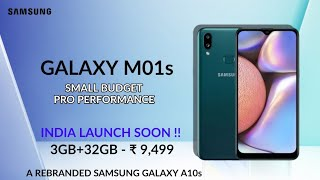 SAMSUNG GALAXY M01S - INDIA LAUNCH SOON !!!