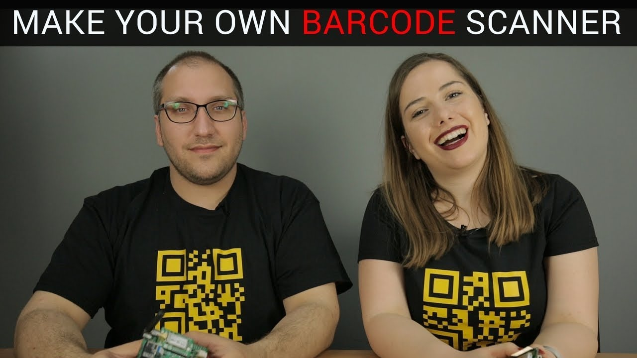 Make Your Own Barcode Scanning System Barcode Click Youtube