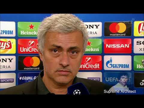 """Paul who?"" Jose Mourinho Post Match Interview Sevilla 0-0 Man Utd"
