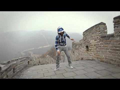 Dreamer Dubstep Dance Skills [Great Wall Of China]