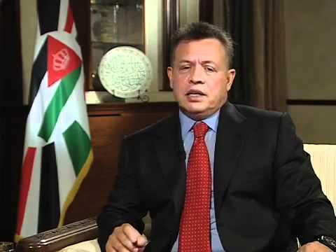 مقابلة الملك عبدالله الثاني مع التلفزيون الاردني 2012