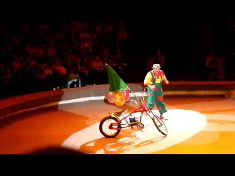 Russian Circus - Clown in Izhevsk, Republic of Udmurtia