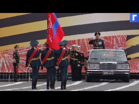 В Алабино провели первую репетицию парада Победы
