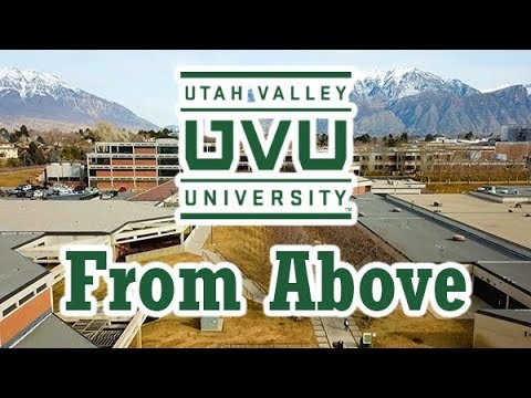 Utah Valley University - From Above - 2018