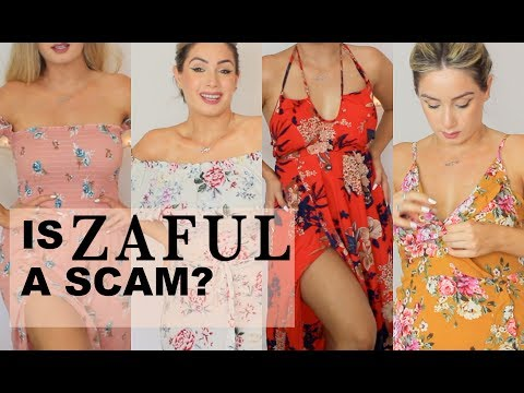 Affordable Try-On CUTE Outfits - ZAFUL HAUL | LILIAN