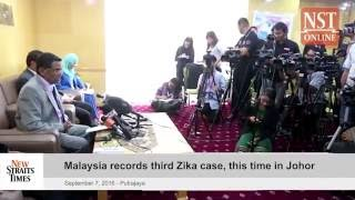 Malaysia records third Zika case, this time in Johor
