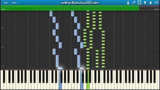 J.Ivanovici-Donauwellen Walzer (Waves of the Danube Waltz) piano (Synthesia)