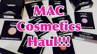 MAC COSMETICS HAUL!!! Thumbnail