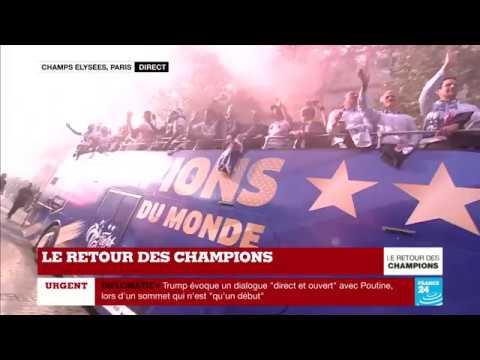 NO COMMENT - La folie pour le RETOUR DES CHAMPIONS !!