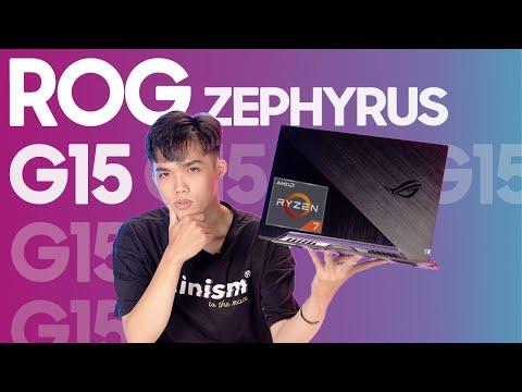 Asus Rog Zephyrus G15 - AMD Ryzen 7 4800HS Mạnh Vô Đối Trong Tầm Giá