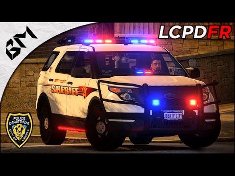 GTA IV - LCPDFR 1.1 - Transport de VIP  - Convoi sous feu ennemi !