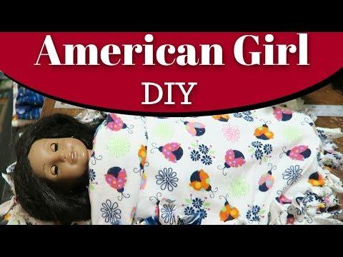 American Girl No Sew Sleeping Bag