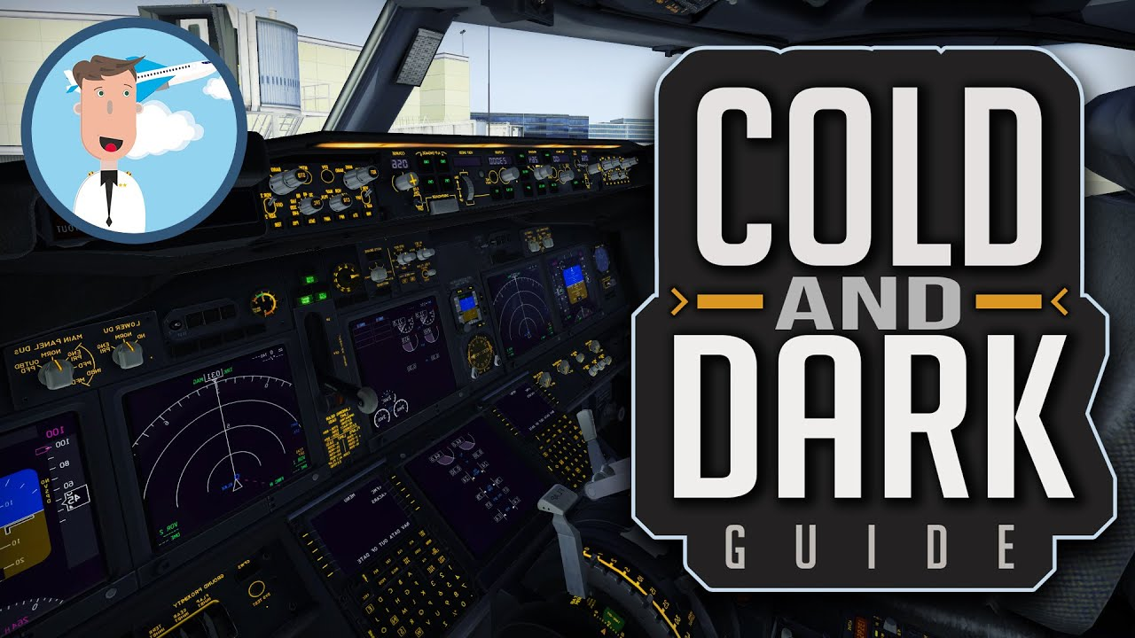 X-plane 11 - Tutorial - ✈️Cold And Dark ZIBO 737-800✈️ - How to power your  aircraft?