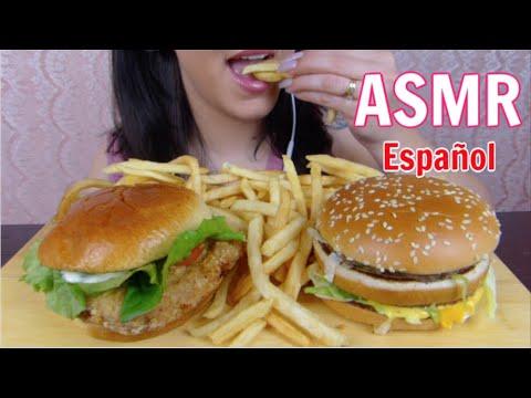 ASMR Español McDonalds