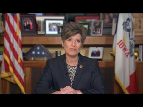 5/28/16 Sen. Joni Ernst Delivers GOP Weekly Address On Memorial Day And America