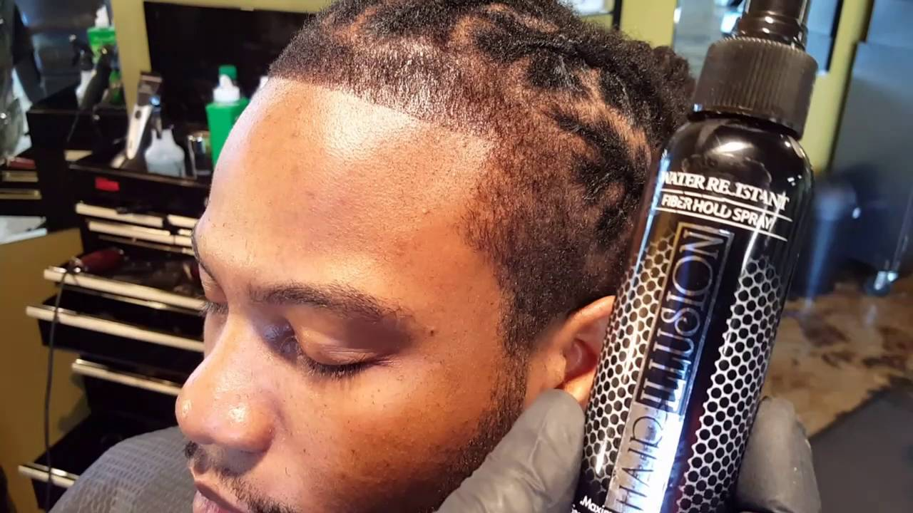 Hairillusion On A Braided Hairline Youtube