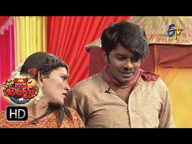 Sudigaali Sudheer Performance | Extra Jabardasth | 30th  December 2016| ETV  Telugu