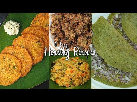 4 Easy Healthy Recipes  Ventuno Home Cooking