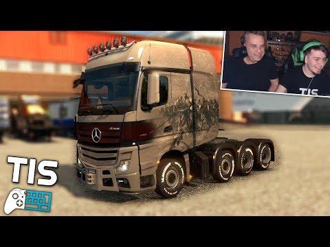 Παίζουμε Euro Truck Simulator 2 | #18 - Το Actros των 2000 Αλόγων!