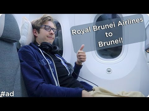 Flying to Brunei with Royal Brunei Airlines! | Evan Edinger