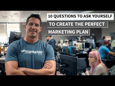 Creating A Marketing Plan - 10 Questions You Need To Ask!