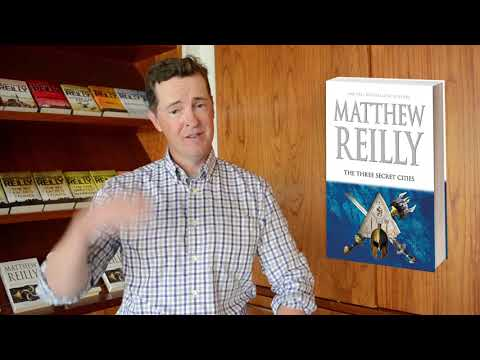 The Three Secret Cities by Matthew Reilly out October 30, 2018