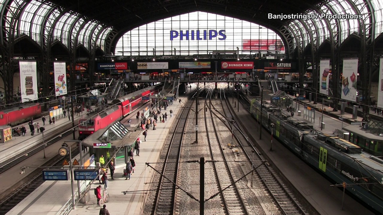Hamburg HBF ~ (Hamburg Main Station) 18/04/2017 - YouTube