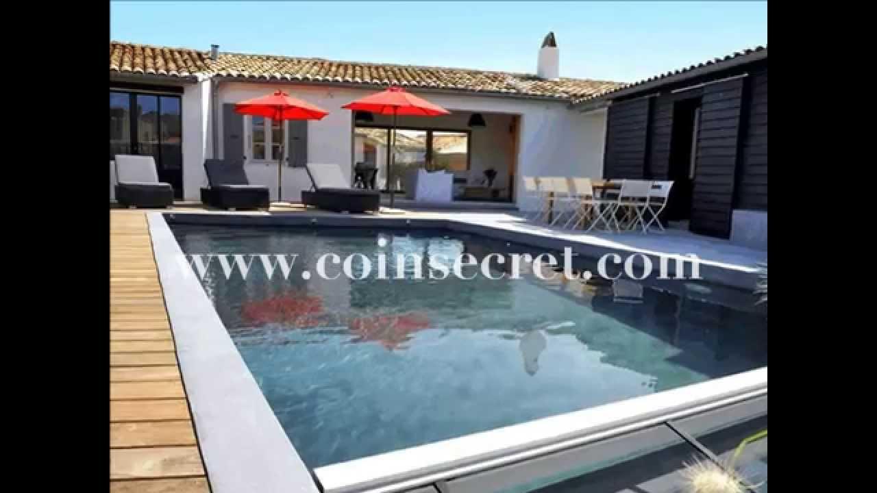 Location Pour Vos Vacances Du0027une Villa De Standing Avec Piscine, Sur Lu0027île  De Ré. Pour 14 Personnes