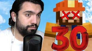 30 FARKLI ŞEKİLDE KENDİNİ ÖLDÜRMEK | Minecraft