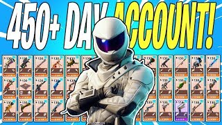 450+ Days Logged Into STW! Full Account Overview | Fortnite Save The World