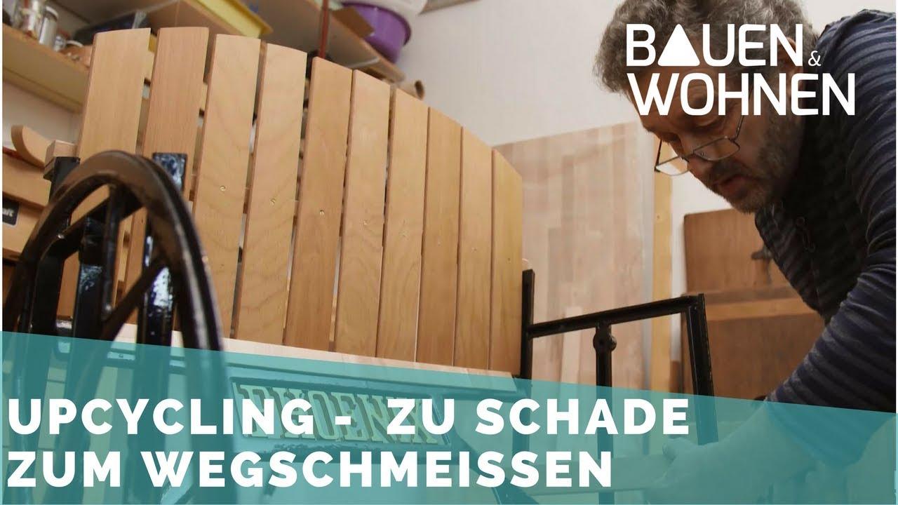 Upcycling Stuhl Aus Alter Nähmaschine Youtube