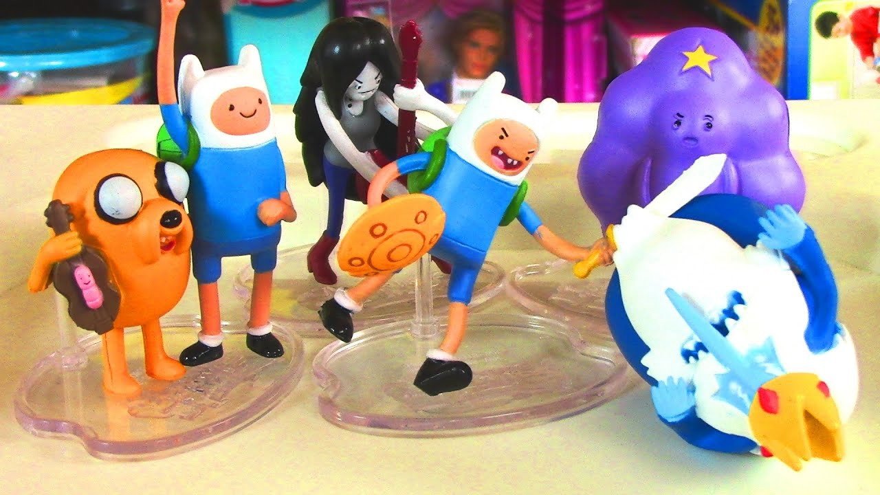 Cartoon Network Toys : Cartoon network adventure time deluxe six pack finn and