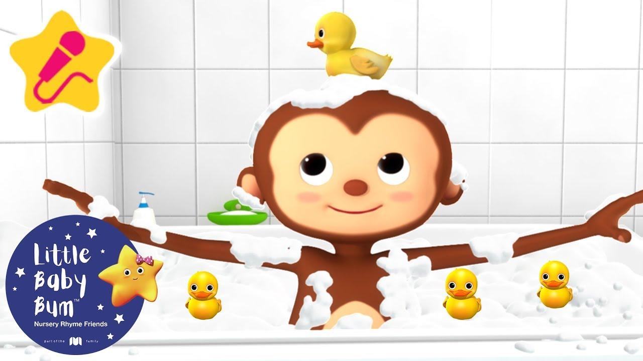 Bath Song | KARAOKE for Kids + More Nursery Rhymes & Kids Songs | Little Baby Bum