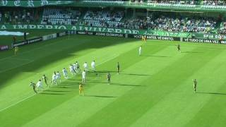 Video Gol Pertandingan Coritiba vs Chapecoense-SC
