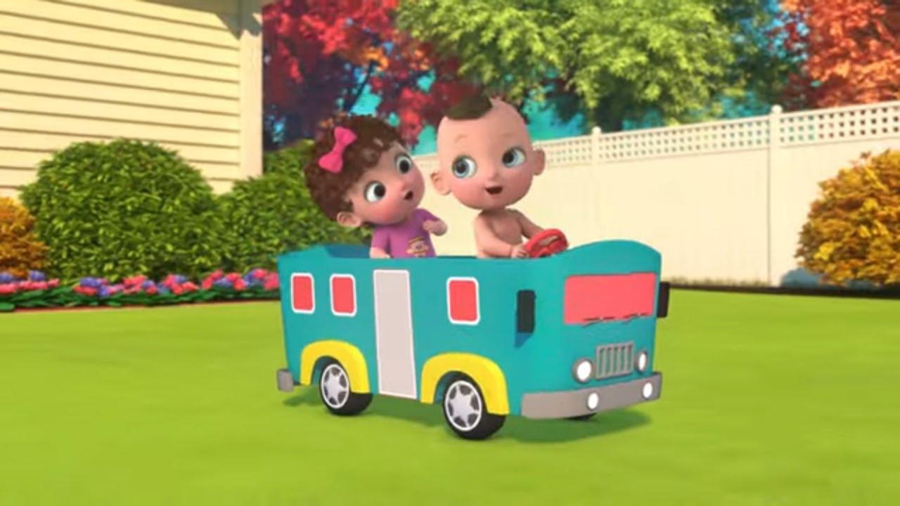 Ну-Ну - Быстро колёса крутятся - Песенки для детей про Автобус