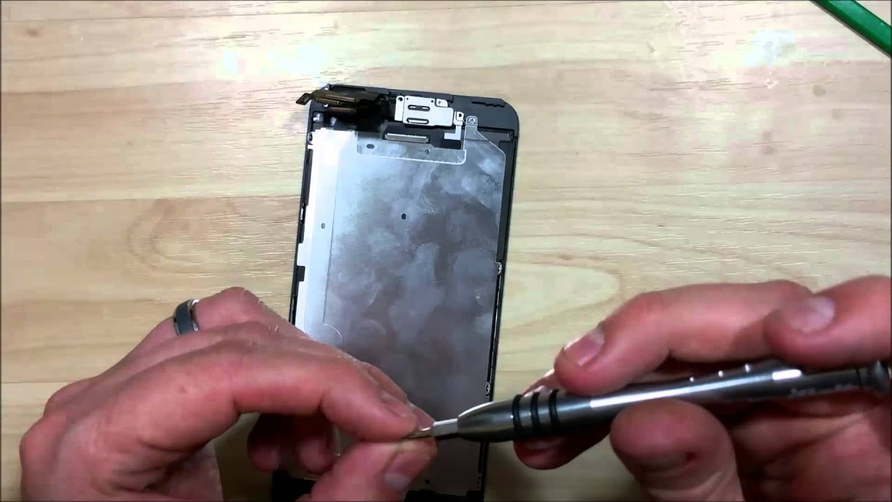 iPhone 6 Plus Screen Replacement Reassembly - Front facing ...