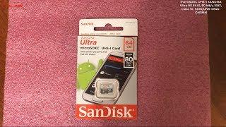 карта памяти SanDisk Ultra SDXC UHS-I 533x Class 10 Ultra SDXC UHS-I 533x Class 10 128Gb обзор