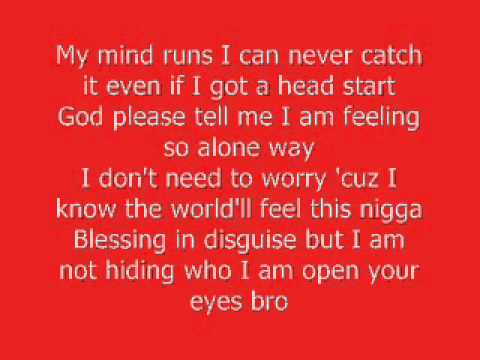 Kid Cudi -The Prayer - Lyrics on Screen [HQ HD]