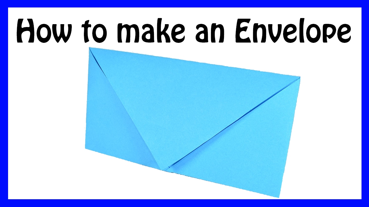 How To Make An Envelope With A Of Paper 28 Images How