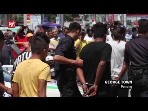 Penang cops nab six men hiding in hotel