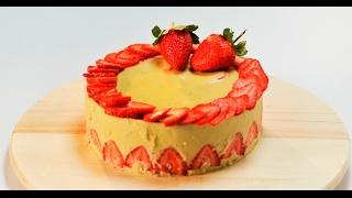Торт «Фрезье лайт» | Десерты лайт
