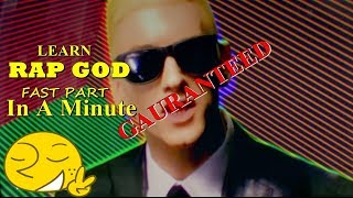 Gambar cover How To Be A Rapgod In Just a Minute