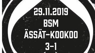 Juniori-Ässät - B1-joukkue - 29.11.2019 BSM Ässät-KooKoo Maalikooste