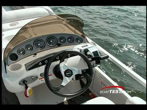 Crestliner 2885 LSI Pontoon Boats Tests / Reviews - By BoatTest.com