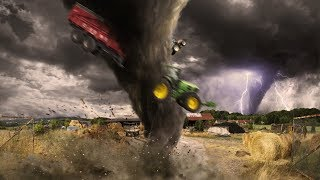 TOP 5 CRAZY TORNADOES Cought On Camera