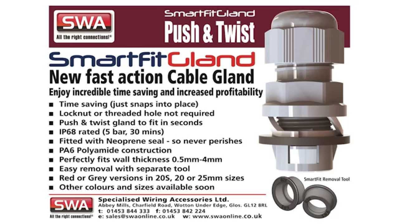 smartfit cable gland install demo youtube rh youtube com specialised wiring accessories linkedin specialised wiring accessories ltd