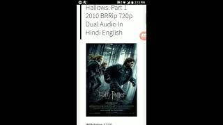 How to download hollywood movies in hindi l hd l  freee l from torrent.....