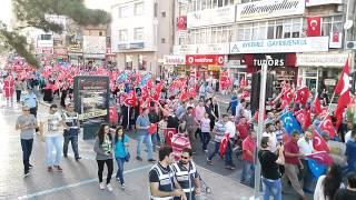 Nevşehir Vatan ve Bayrak yürüyüşü