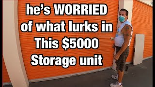 18 YEARS SEALED HAS HIM SCARED ! Will the roaches be infested ? I paid $5000 for this storage